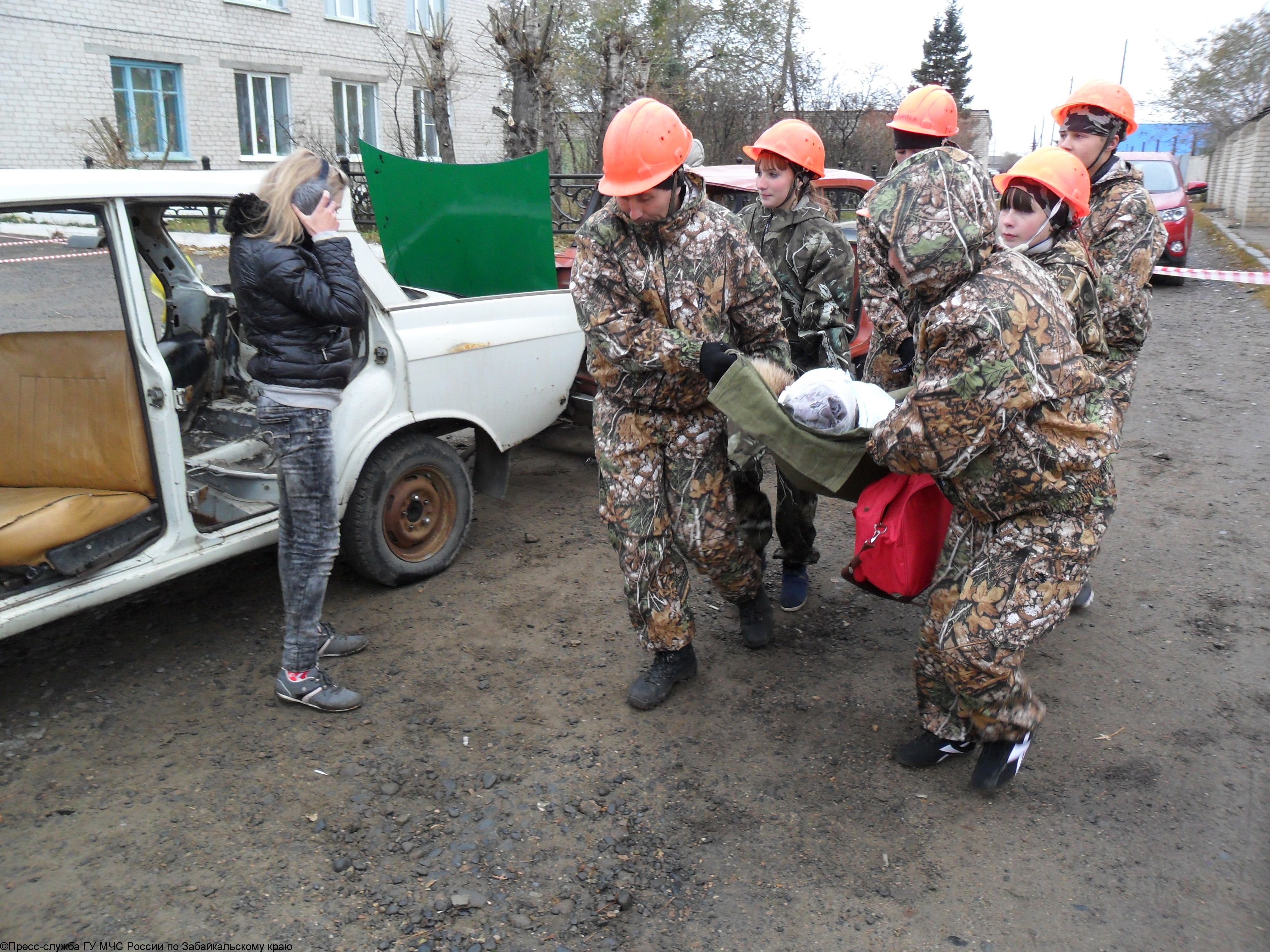 В Забайкальском крае прошли соревнования «Юный спасатель»