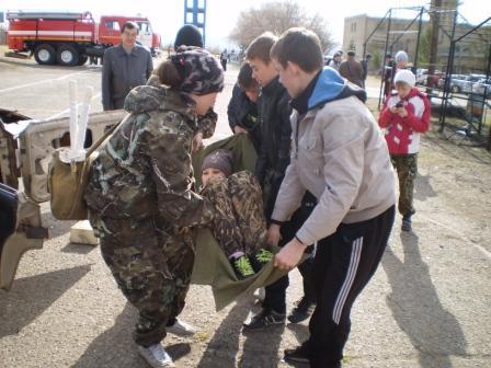 """6 краевые соревнования """"Школа безопасности"""""""