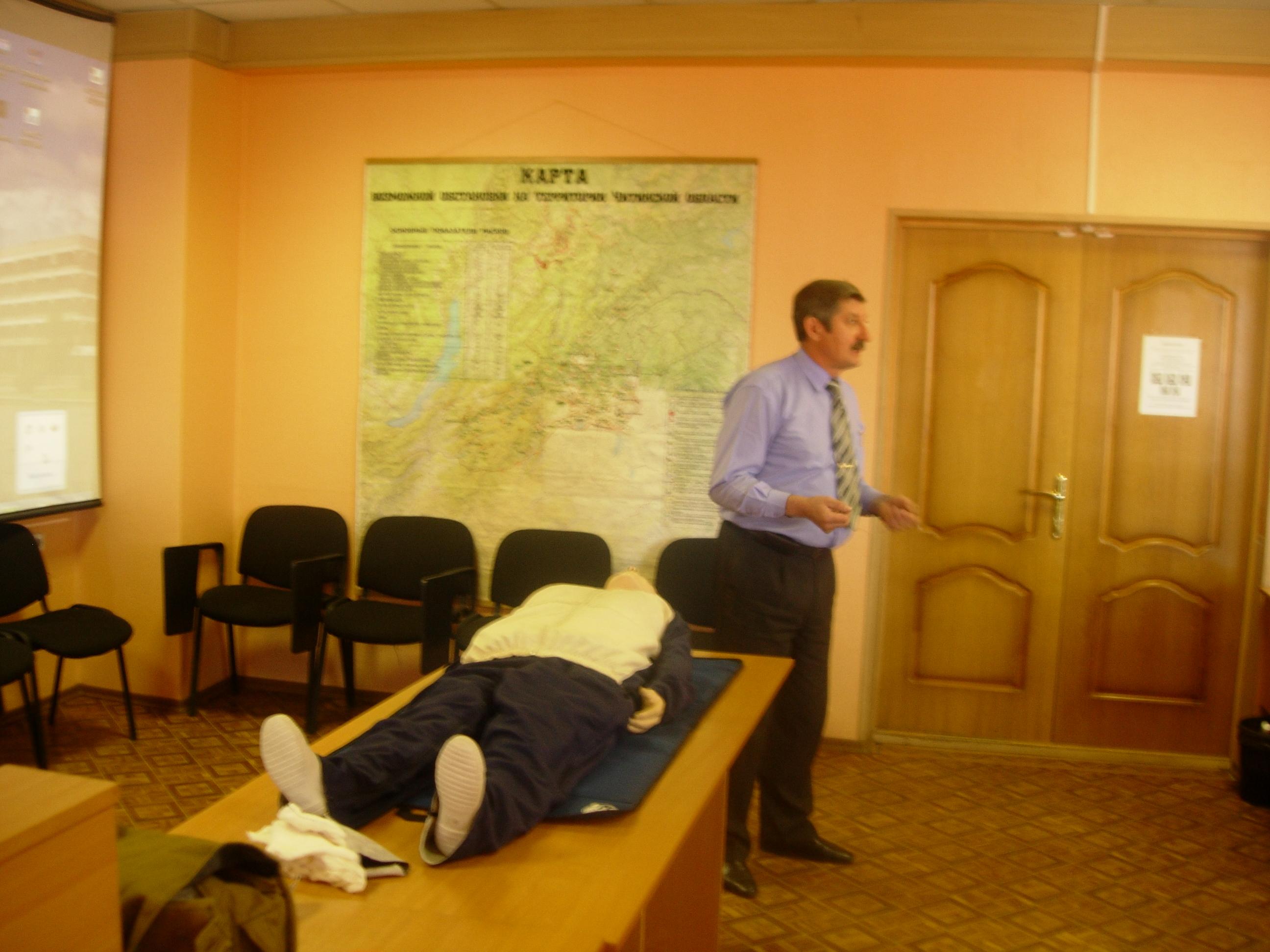 10. Проведение открытого урока по тематике гражданской обороны