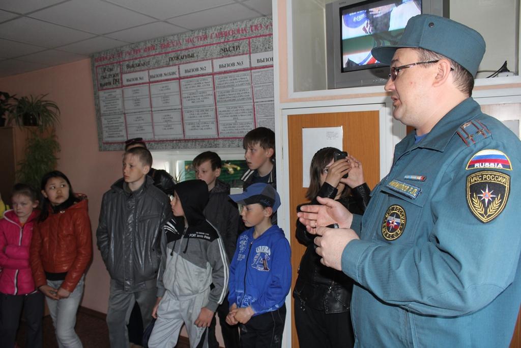День открытых дверей ПЧ-2 23.04.2014