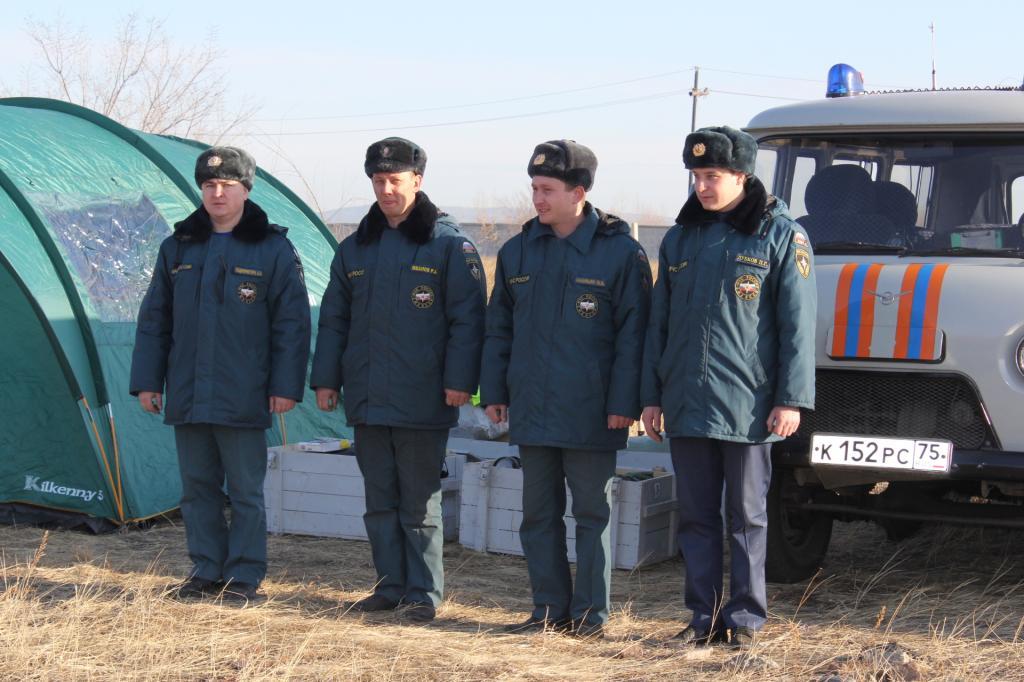 Смотр сил и средств ТП РСЧС Забайкальского края к лесопожарному периоду