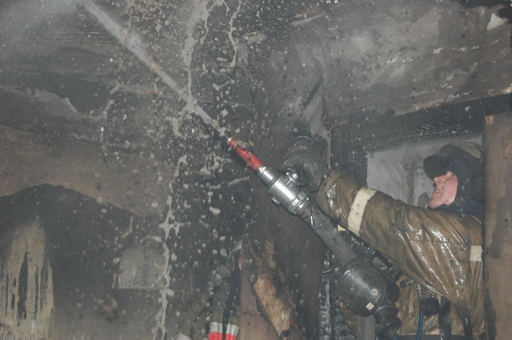Работа сотрудников Федеральной противопожарной службы