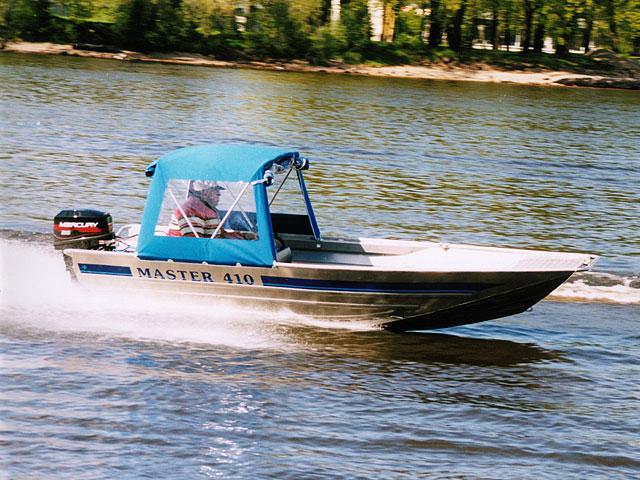 Моторная лодка «Мастер – 410»