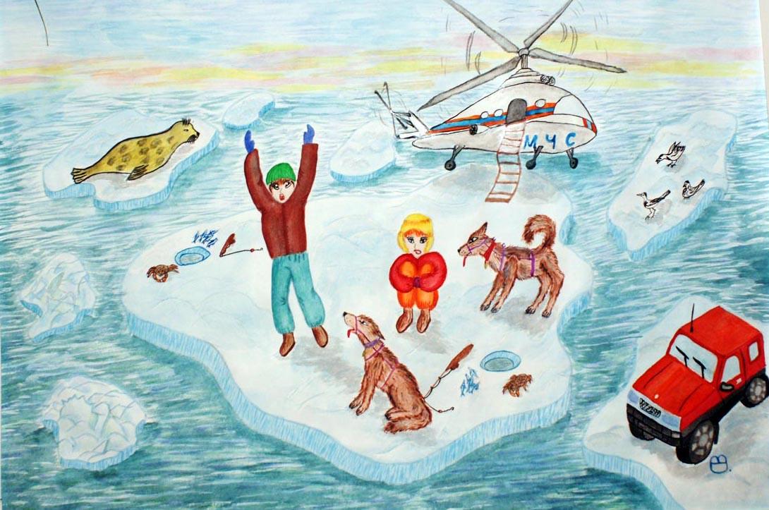 Спасатели картинки нарисованные