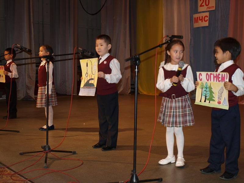 Завершился Фестиваль детского творчества, проводимый МЧС и ВДПО