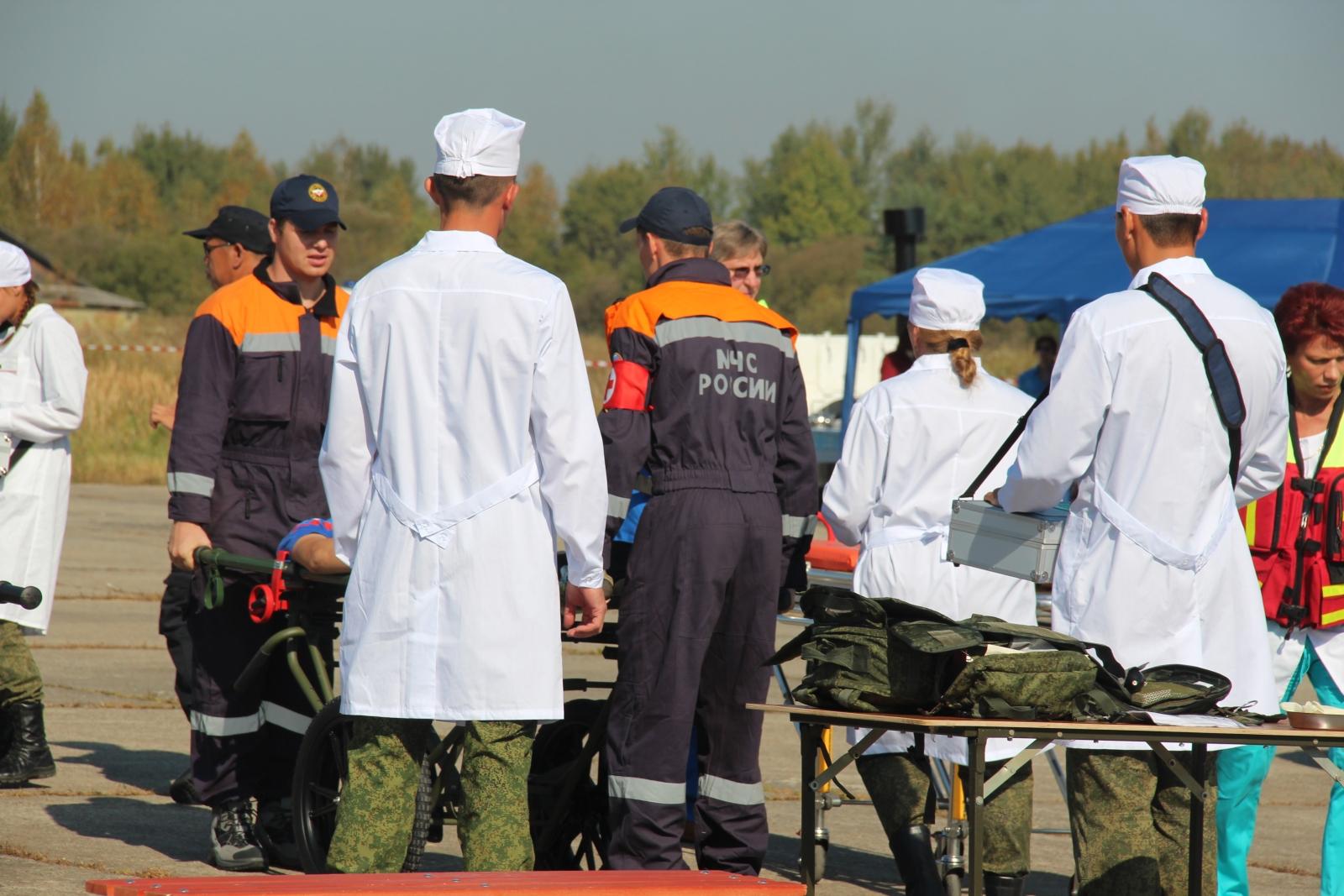 Международные российско-китайские учения по ликвидации медико-санитарных последствий крупномасштабного землетрясения