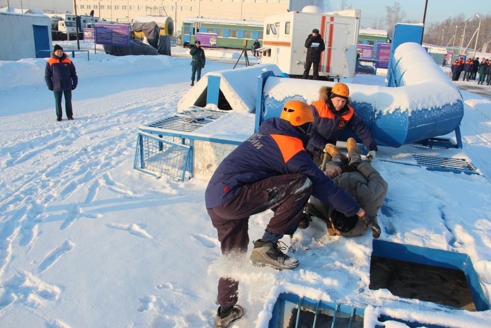 Учения по ликвидации ЧС, связанной с землетрясением в Хабаровском крае в рамках учебно-методического сбора