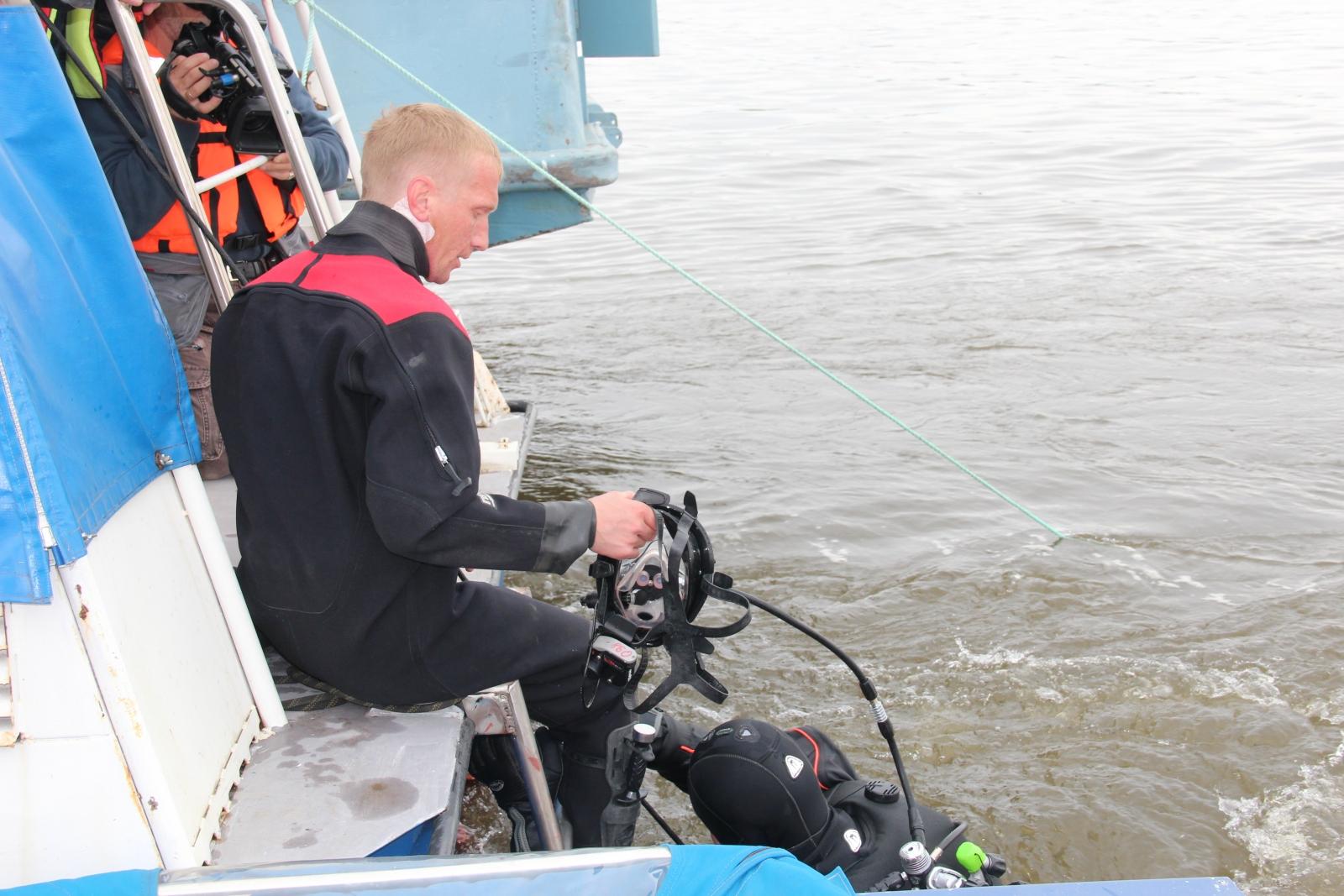Тренировка по ликвидации ЧС на водном объекте