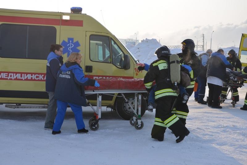 Пожарно-спасательные формирования города Хабаровска приняли участие в межведомственных антитеррористических учениях