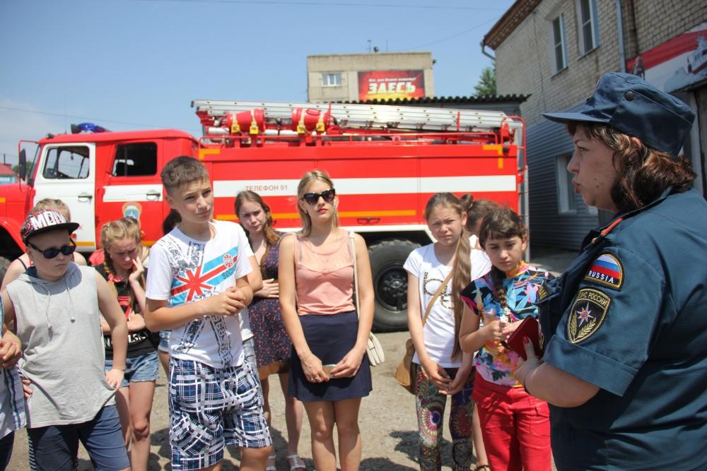 Юные железнодорожники на экскурсии в 3 ПСЧ