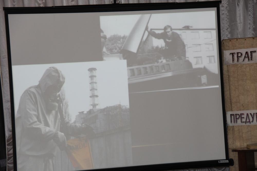 Встреча сотрудников ГУ МЧС России по Хабаровскому краю, кадетов МЧС школы № 3 города Хабаровска с ликвидатором последствий аварии на ЧАЭС