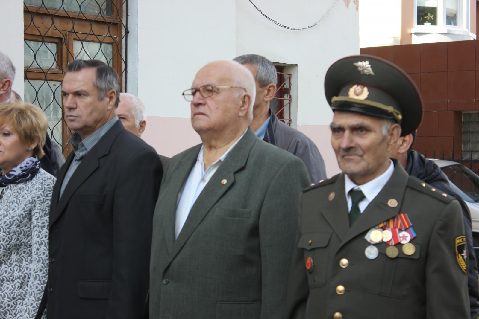 85 лет 1 пожарно-спасательной части Хабаровска