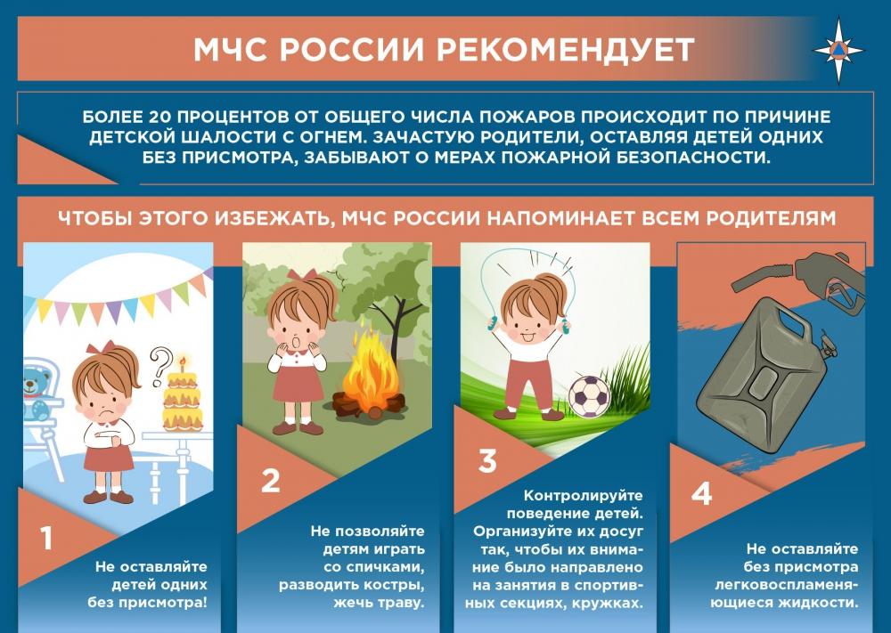 Безопасность детей в период каникул