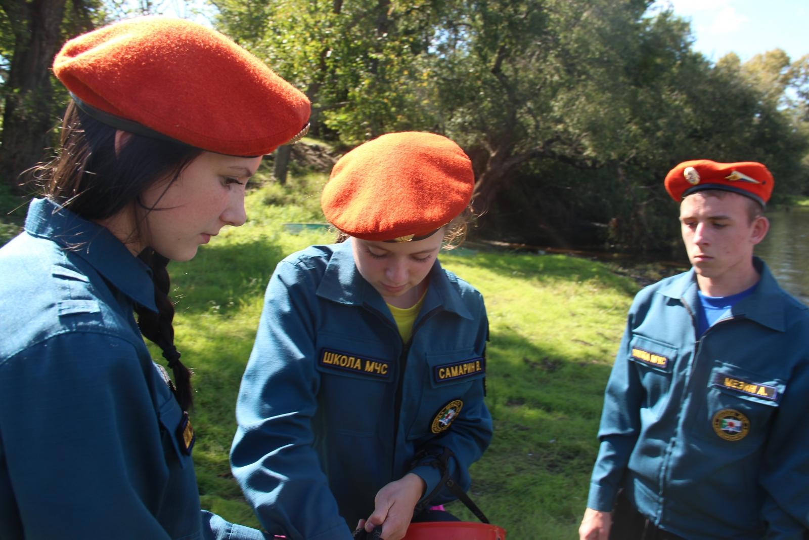 Открытие кадетского класса в с. Черняево района им. Лазо