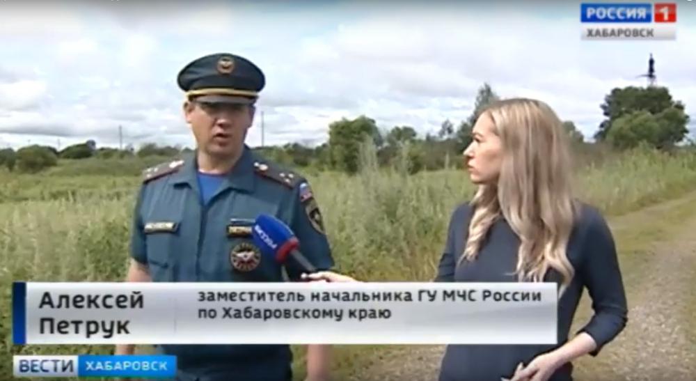 Спасатели проводят активную работу по информированию жителей Хабаровского края о приближении большой воды