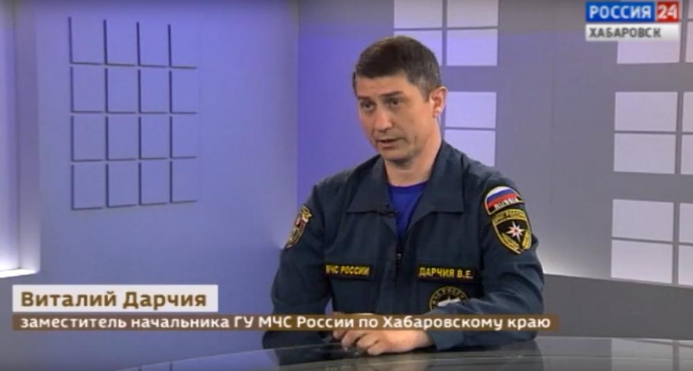 Паводковая обстановка на территории Хабаровского края