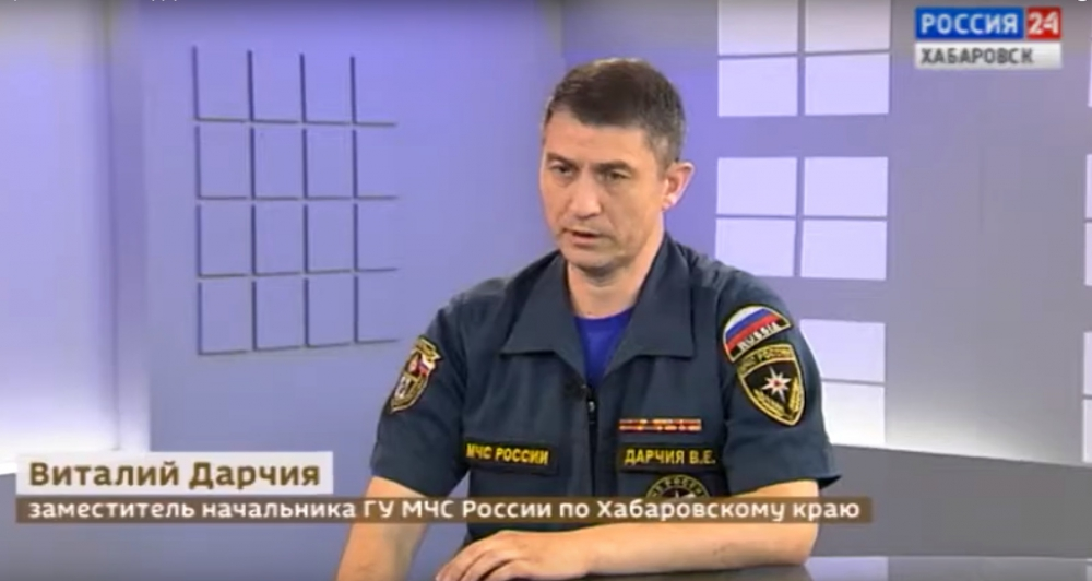 Гидрологическая обстановка на реках Хабаровского края