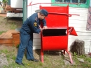 Пожарные заботятся о детском летнем отдыхе
