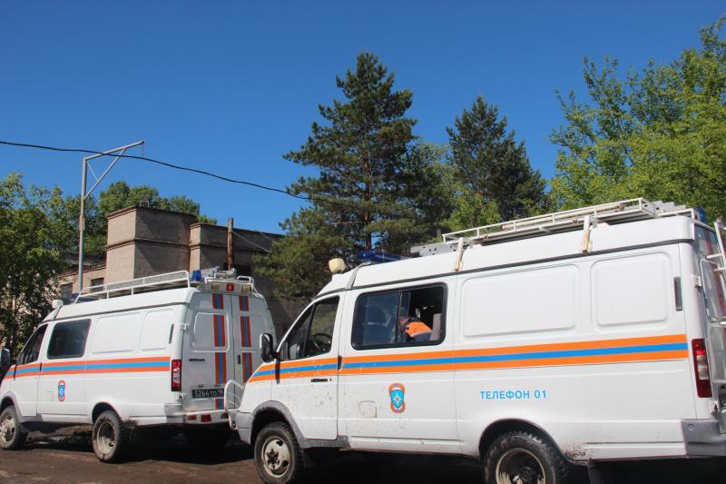 Проведение ПСДНР по ликвидации последствий ЧС природного и техногенного характера (май 2014)