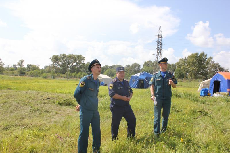 Тренировка аэромобильной группировки СПСЧ .