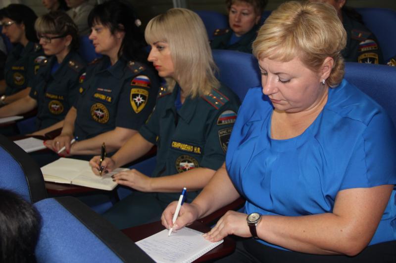 Учебно-методические сборы с сотрудниками финансово-экономических органов МЧС России по субъектам РФ