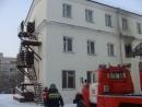 125 человек эвакуировано при пожаре в  общежитии Хабаровского  техникума