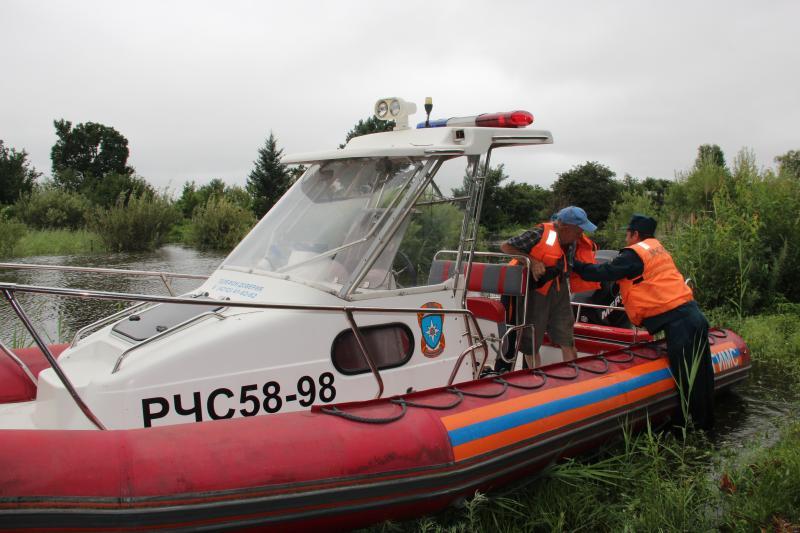ЧС с паводками в Хабаровском крае