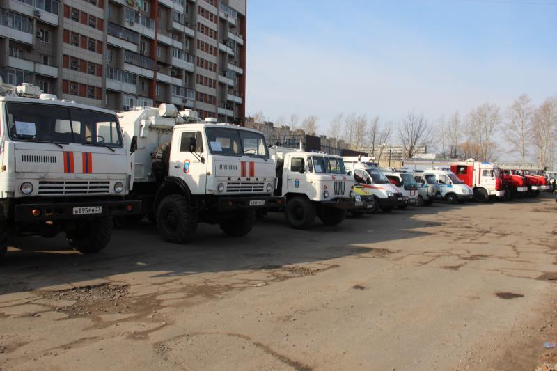 Подразделения ФПС по Хабаровскому краю приняли участие в плановых тактико-специальных антитеррористических учениях