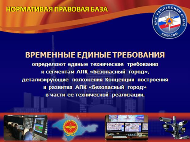 """Этапы построения АПК """"Безопасный  город"""""""
