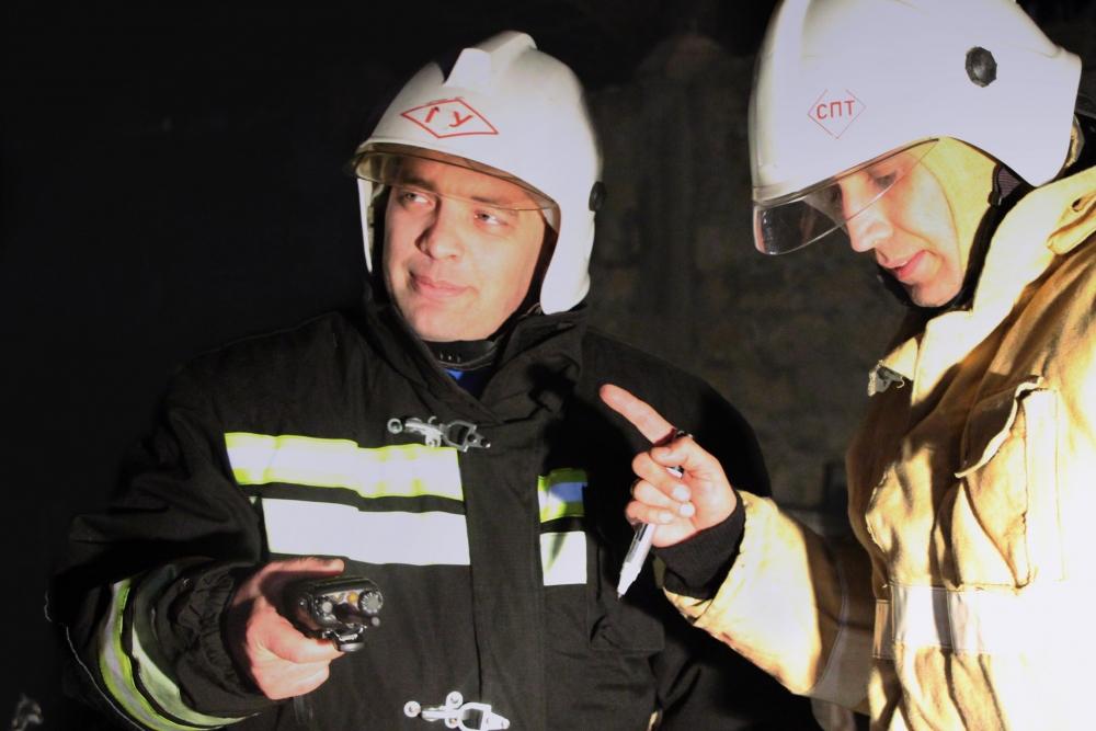 Холодный разум и смелость – главные качества профессионального огнеборца