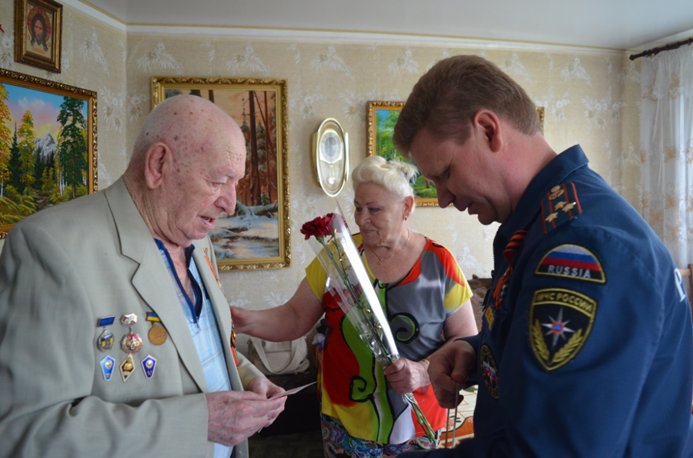 Поздравление от ветерана пожарной охраны