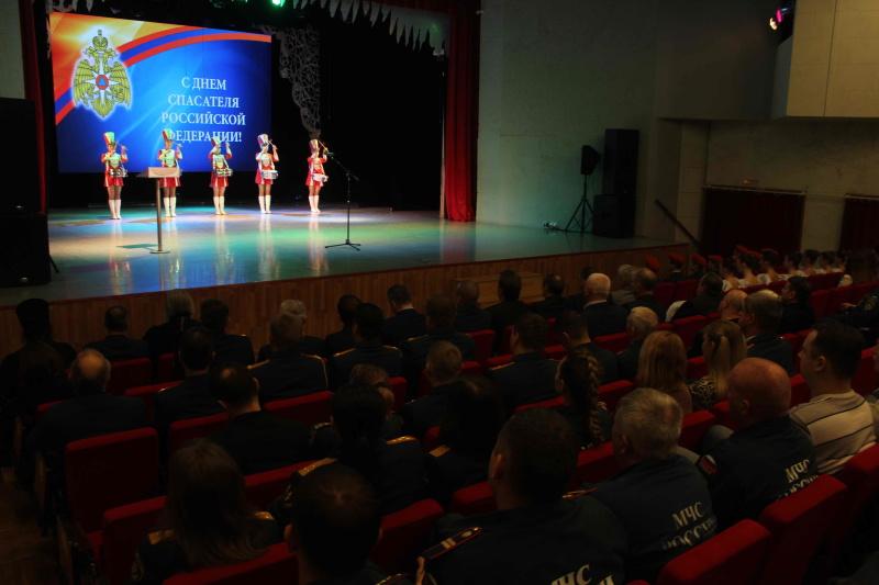 Торжественное мероприятие, посвященное Дню спасателя Российской Федерации (23 декабря 2019 года)