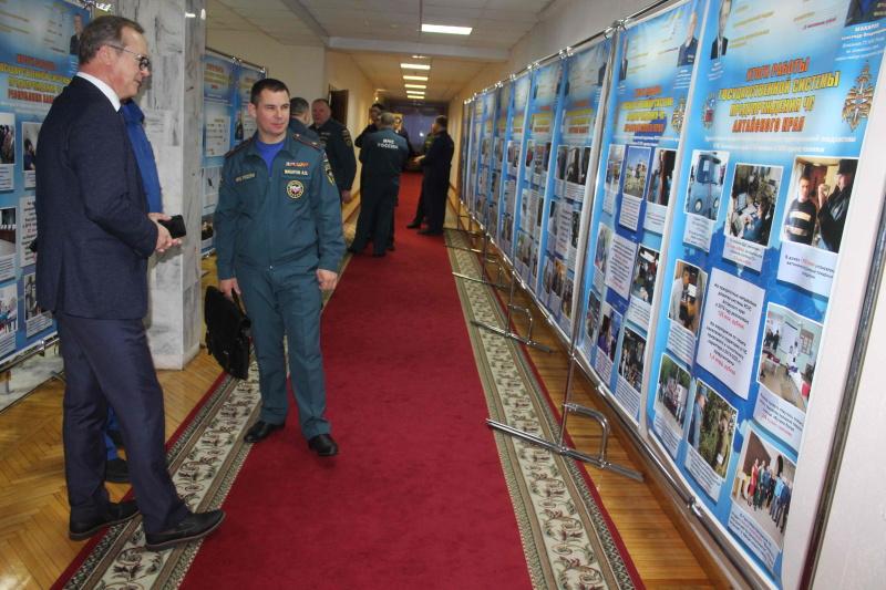 Учебно-методический сбор по подведению итогов деятельности единой государственной системы предупреждения и ликвидации чрезвычайный ситуаций (РСЧС) Сибирского федерального округа в 2019 году (11 декабря 2019 года)