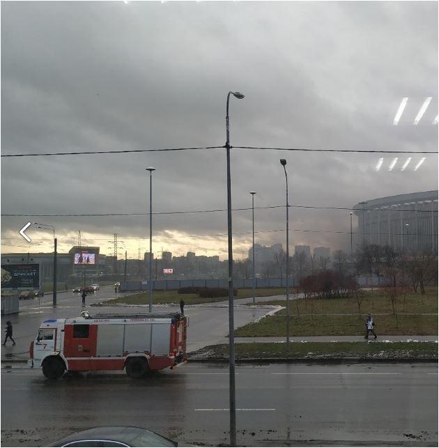 Спасатели ликвидировали пожар в Московском районе