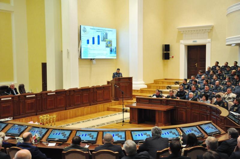 В краевом центре состоялось подведение итогов деятельности территориальной и функциональных подсистем единой государственной системы предупреждения и ликвидации чрезвычайных ситуаций в Ставропольском крае в 2019 году и постановка задач на 2020 год