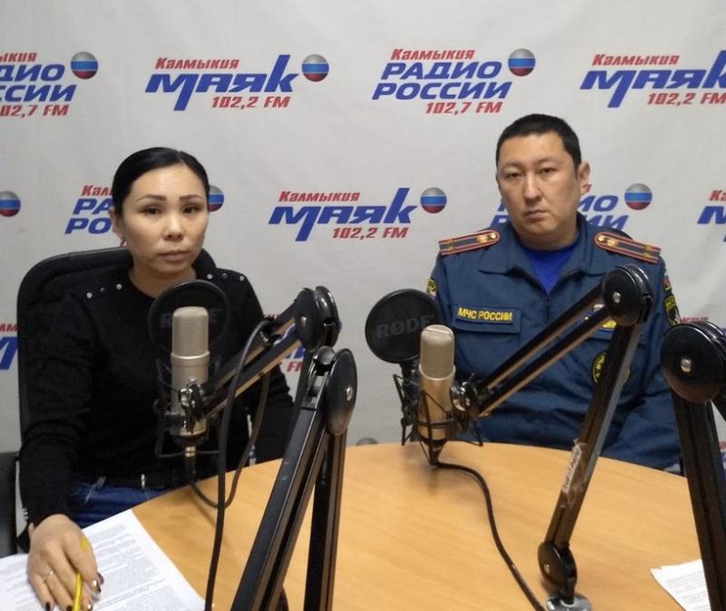 В прямом эфире на Радио Калмыкии...