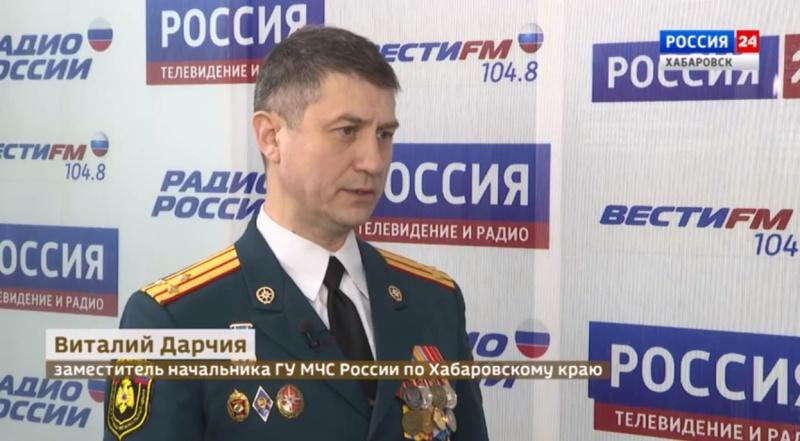 Итоги 2019 года подводят спасатели Хабаровского края