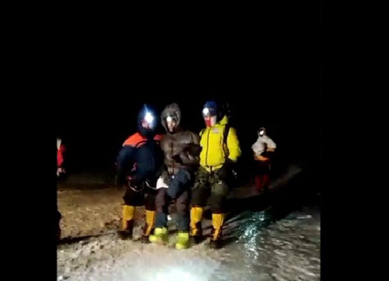 Спасатели эвакуировали с Эльбруса альпиниста из Минска