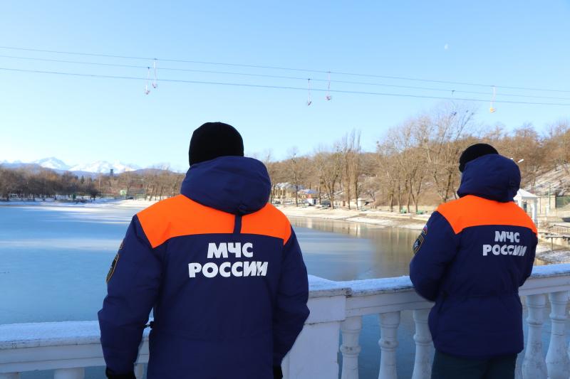 Патрулирование на водоемах города Нальчик.