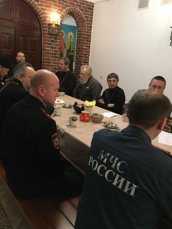 Сотрудники МЧС провели занятия с настоятелями ковровских храмов и церквей перед праздником Крещения Господня