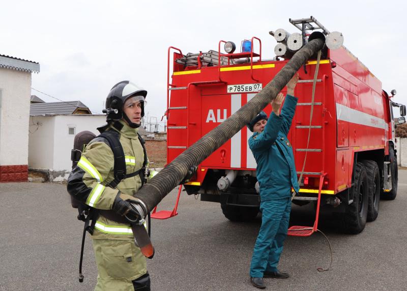 Пожарно-тактические тренировки