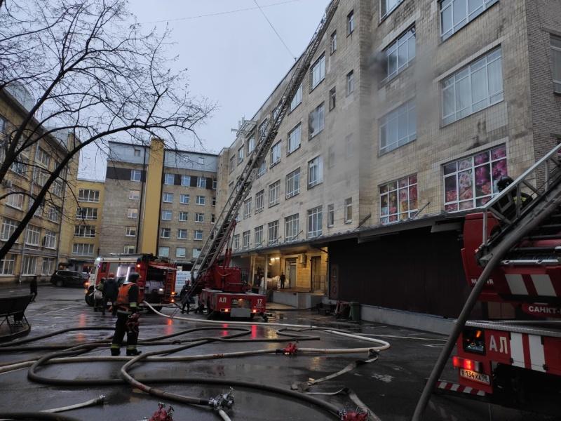 Пожар в Центральном районе ликвидирован