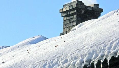 Снег на крышах - угроза безопасности