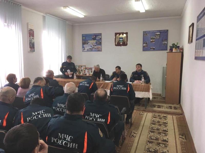 Подвели итоги деятельности пожарно-спасательной части №3