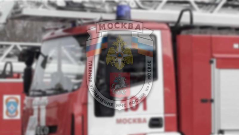 В 03 часа 41 минуту пожар на ул. Профсоюзная, дом 145 ликвидирован
