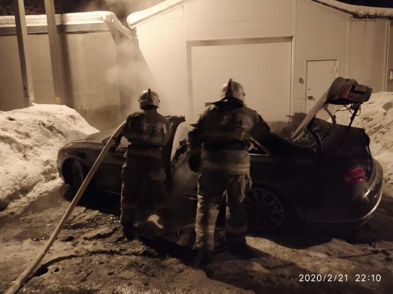 Пожар в г.Первоуральске