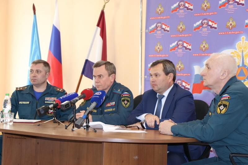 Пресс-конференция по готовности сил и средств к весеннему паводку