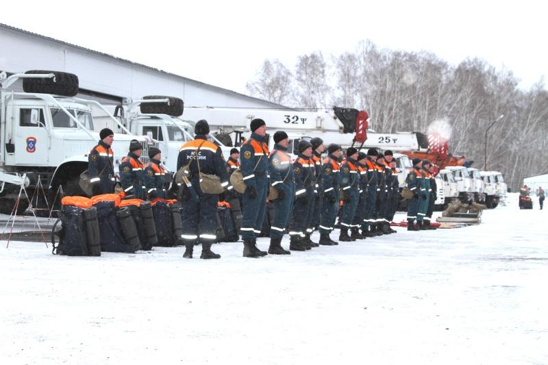 В Сибирском федеральном округе началась всесторонняя подготовка к весенним рискам (фото, видео)