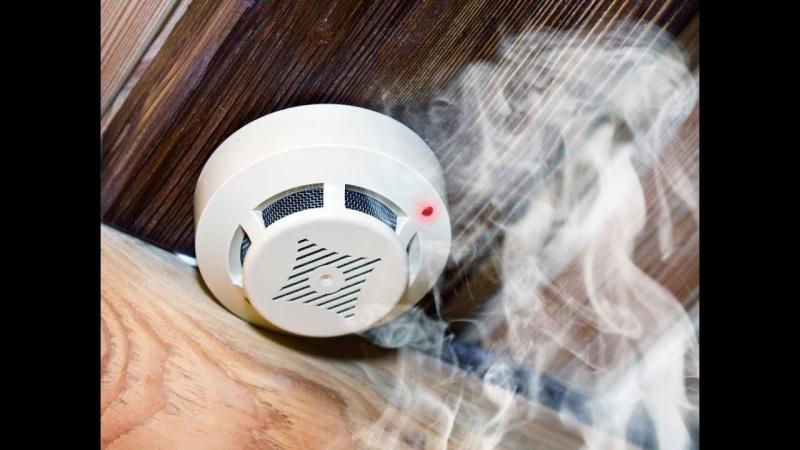Защитить дом от пожара поможет пожарный извещатель