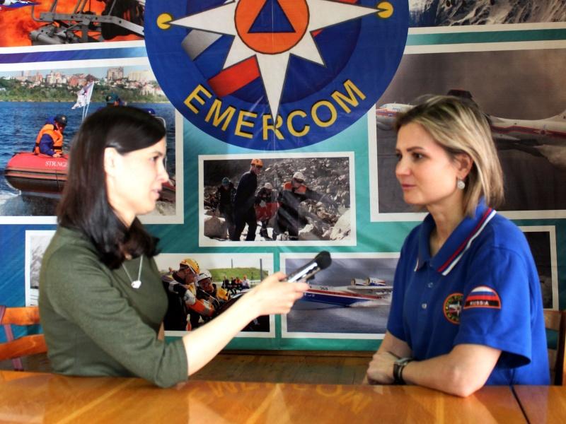 Интервью диспетчера 7 пожарно-спасательной части города Чебоксары Светланы Кузьминой